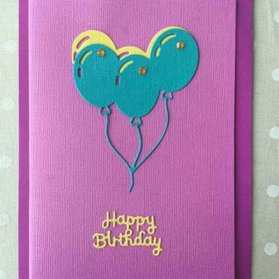 Multi Coloured Hand Crafted Cards. (Select image to view description)