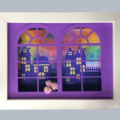 3 Dimensional Shadowbox Paper Craft